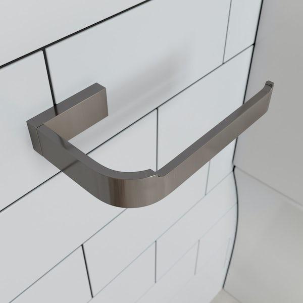 Mode Spencer brushed nickel toilet roll holder