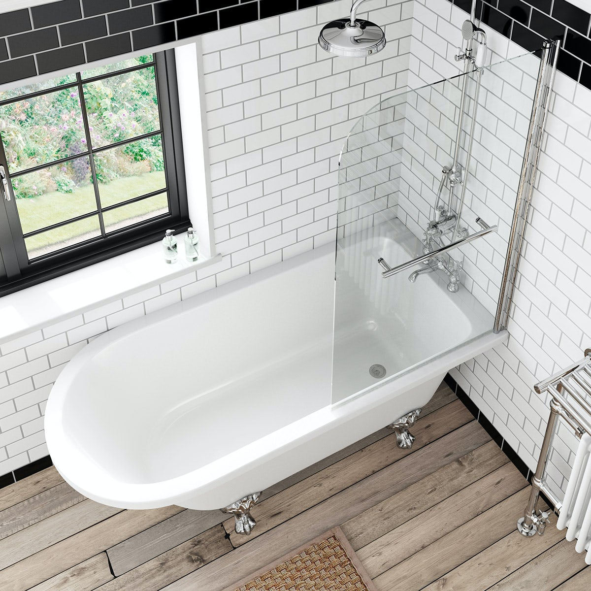 shower screens for freestanding baths mobroi com the bath co dulwich freestanding shower bath and bath screen with