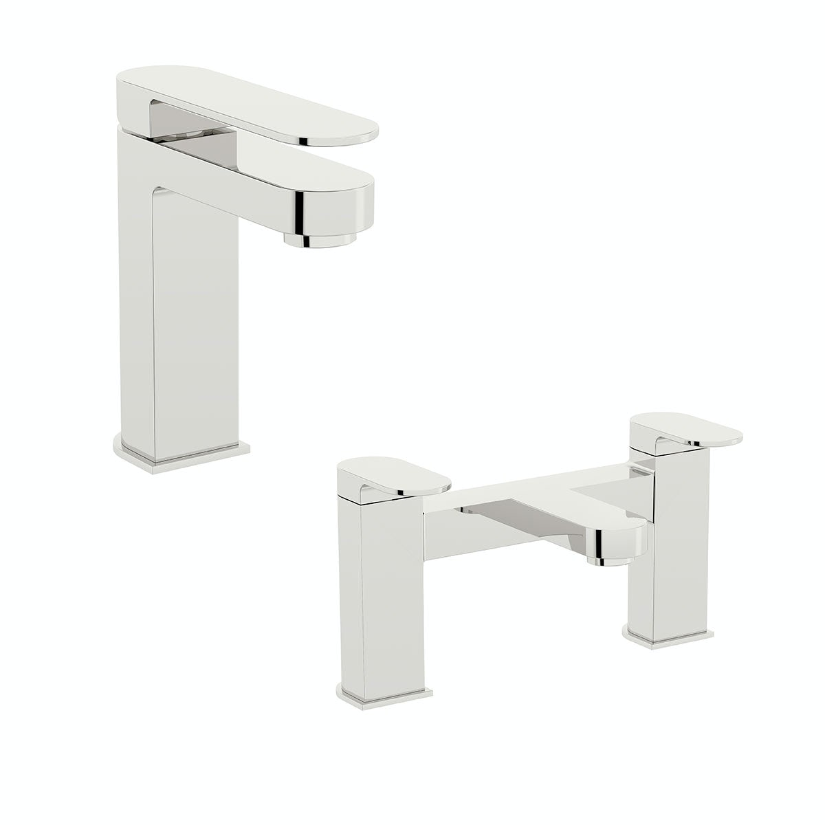 Mode Hardy basin and bath mixer tap pack