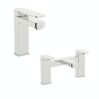 Mode Stanford basin and bath mixer tap pack
