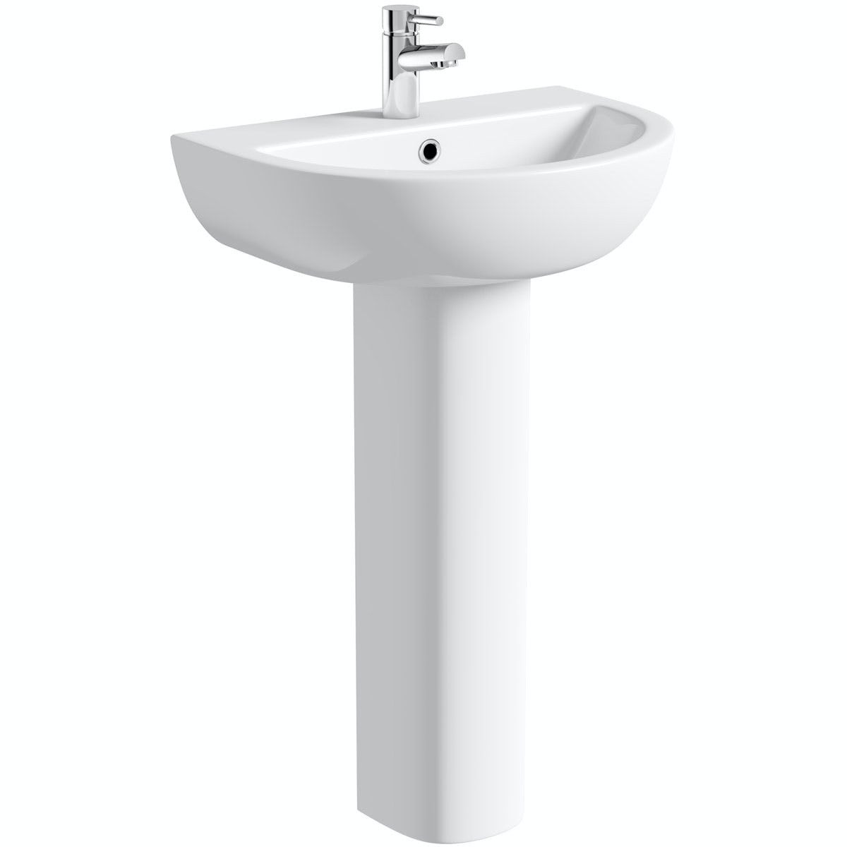 Orchard Elena 1 tap hole full pedestal basin