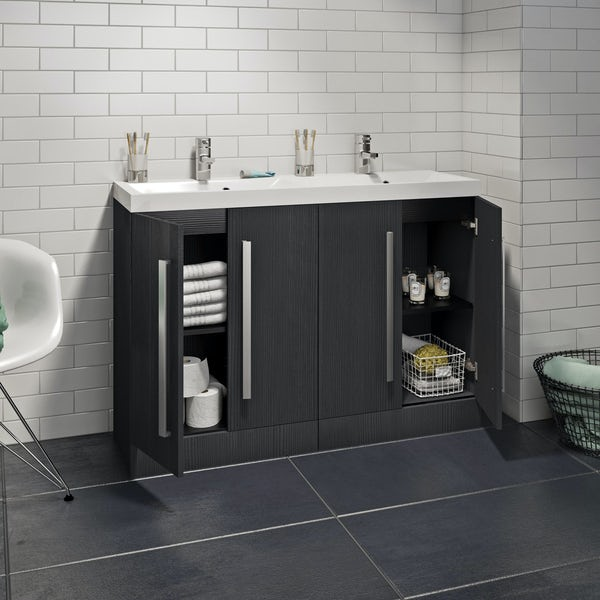 Wye essen double basin unit 1200mm