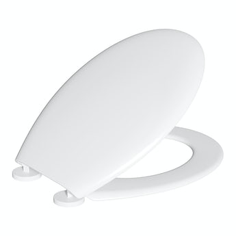 Clarity universal thermoplast toilet seat