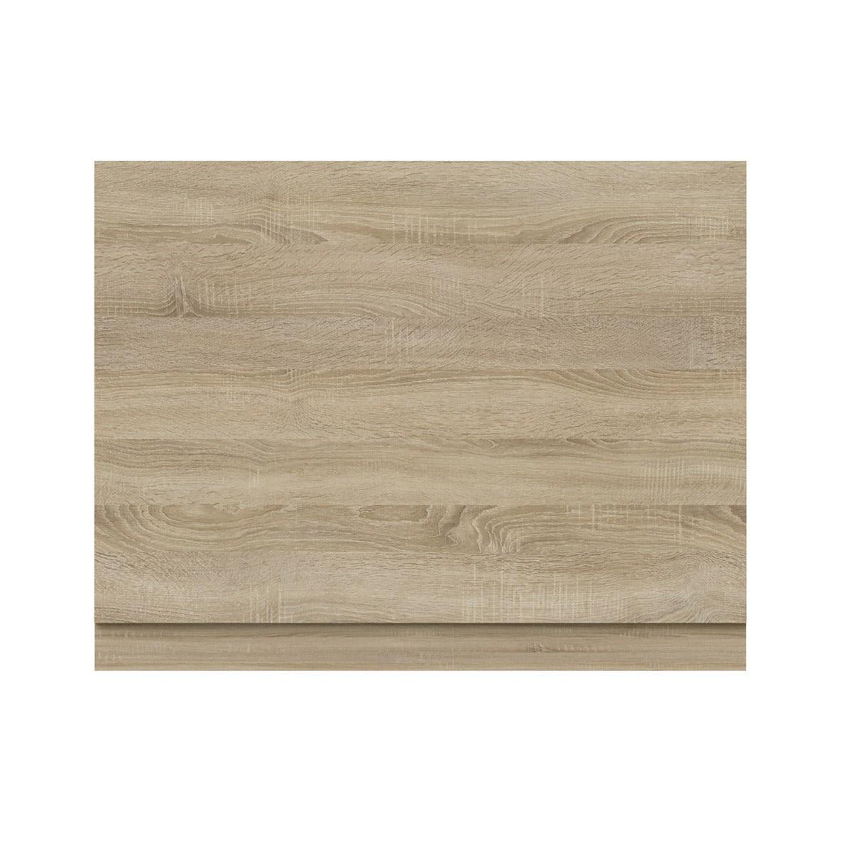 Wye oak bath end panel 680mm