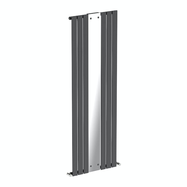 Mode Ellis anthracite vertical radiator with mirror 1840 x 620 offer pack Back to product list Clone product
