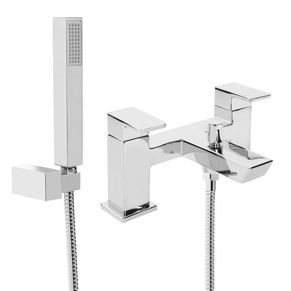 Bristan Orta basin tap and bath shower mixer tap pack