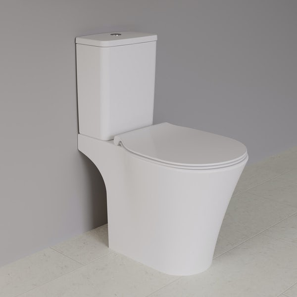Ideal Standard Concept Air complete right hand wood light grey furniture and shower bath suite 1700 x 800
