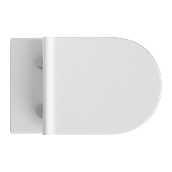 Mode Tate back to wall toilet inc slimline soft close toilet seat