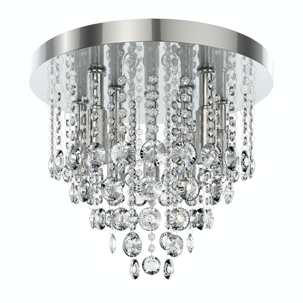 Forum Lenah 380mm flush bathroom ceiling light