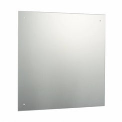 Square Bevelled Edge Drilled Mirror 60x60cm