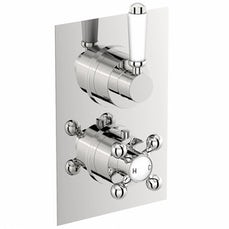 Image of Traditional Square Twin Valve with Diverter Special Offer