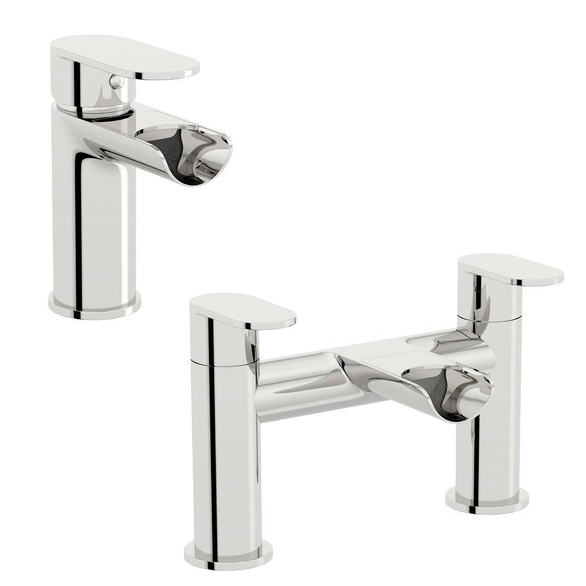 Eden basin and bath mixer tap pack