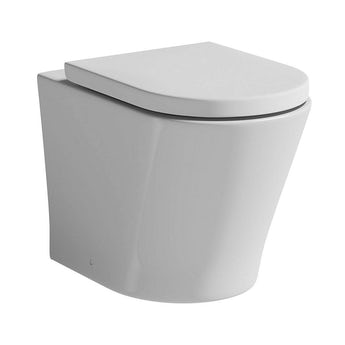 Mode Tate back to wall toilet with soft close seat