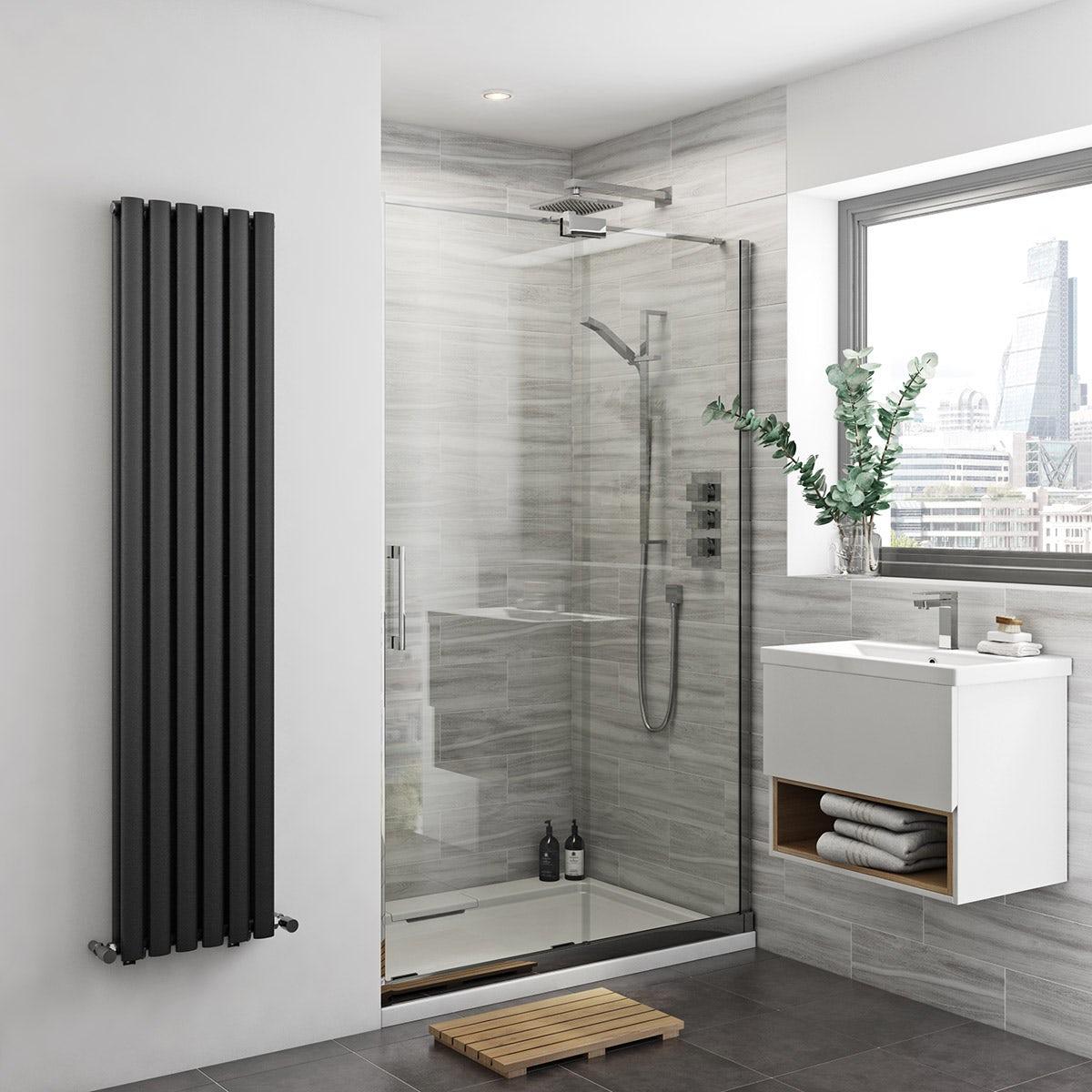 Mode Carter premium 8mm easy clean right handed sliding shower door 1200mm