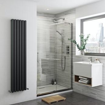 Mode Glaser premium 8mm easy clean right handed sliding shower door