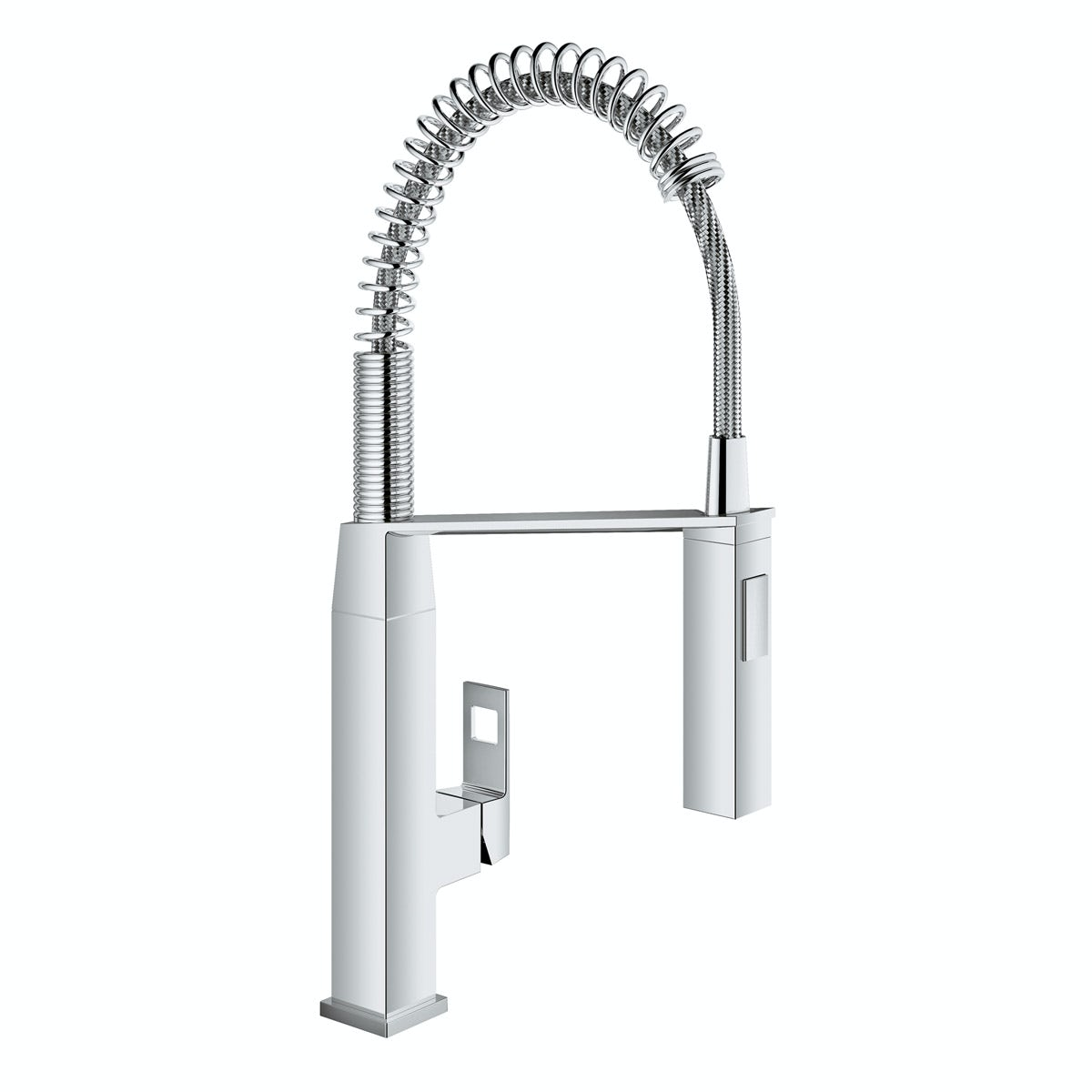 Grohe Eurocube Profi-spray kitchen tap with pull down spout