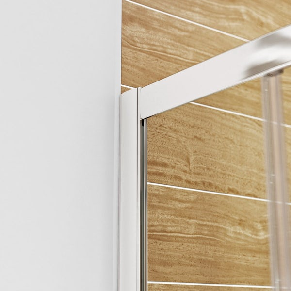 6mm sliding quadrant shower enclosure