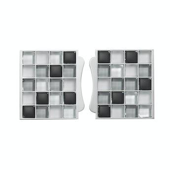 Aqualisa sassi electric shower tile inlays black