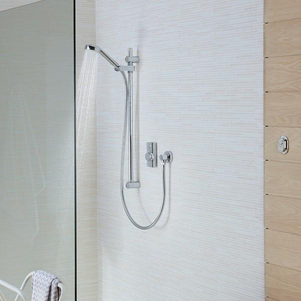 Aqualisa visage concealed digital shower standard