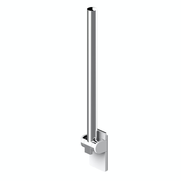 AKW Onyx fold up rail chromed white