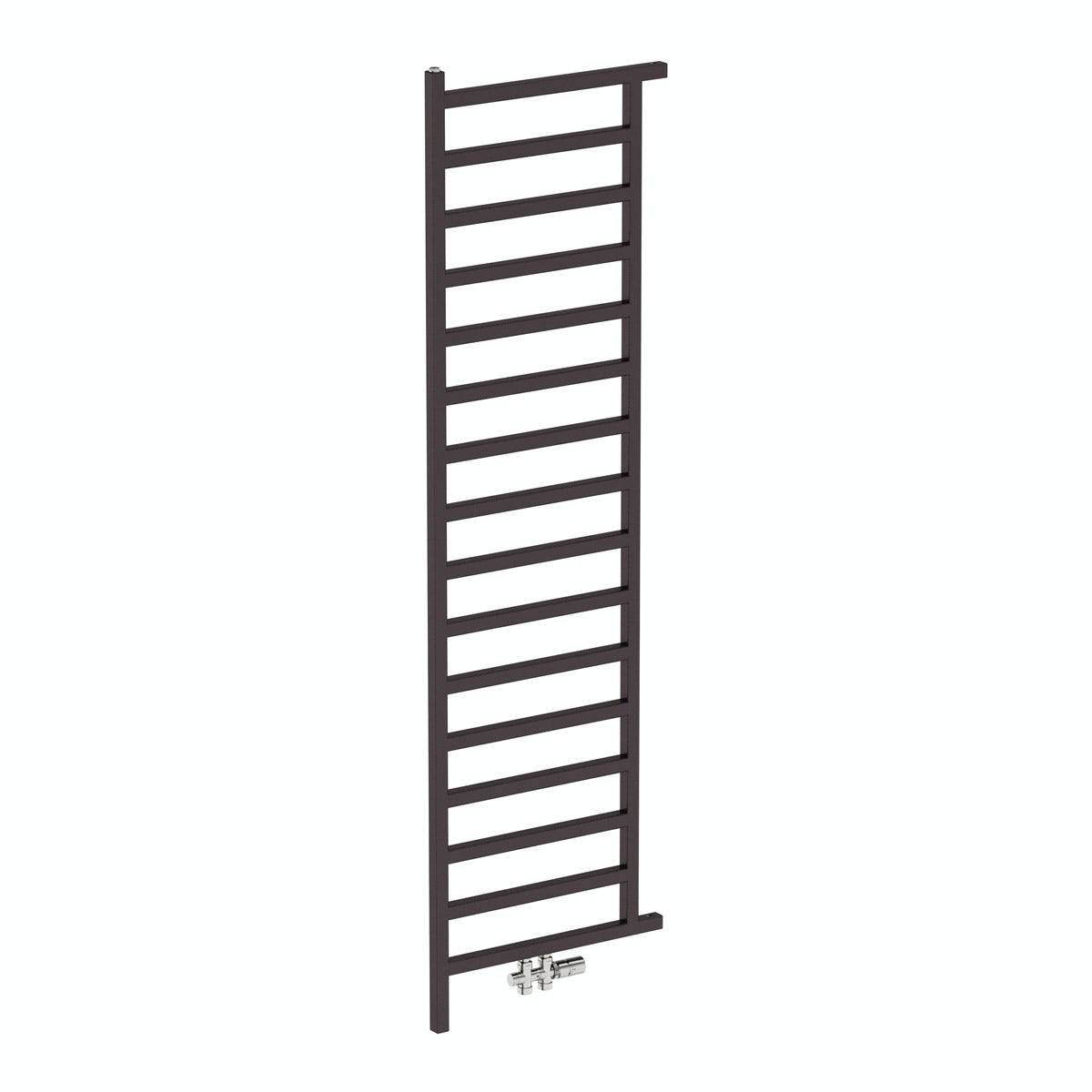 Simple meteor black heated room divider 1995 x 500