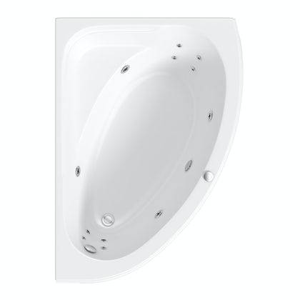 Camden corner 12 jet right handed whirlpool bath