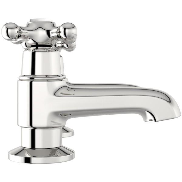 The Bath Co. Camberley bath pillar taps offer pack