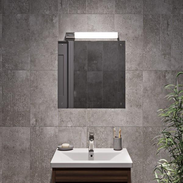 Forum 12W bathroom shaver wall light