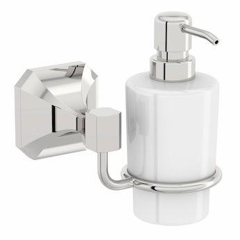 The Bath Co. Camberley ceramic soap dispenser