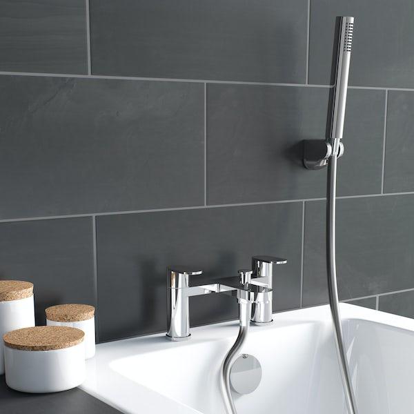 Kirke Curve bath shower mixer tap