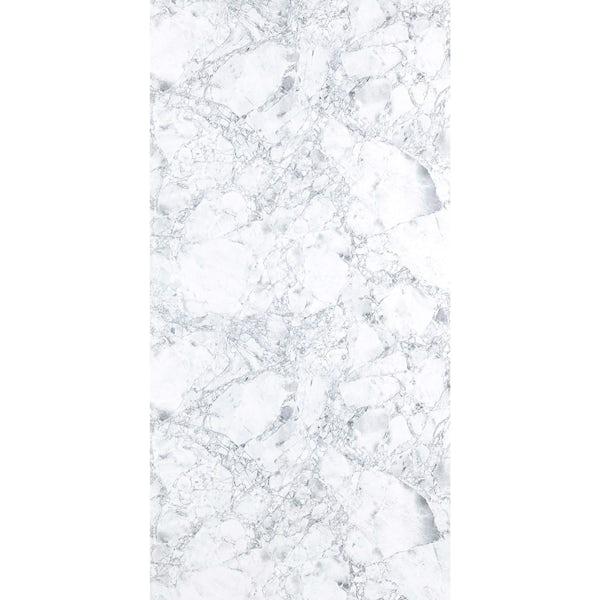 Multipanel Linda Barker Bianca Luna unlipped shower wall panel 2400 x 1200