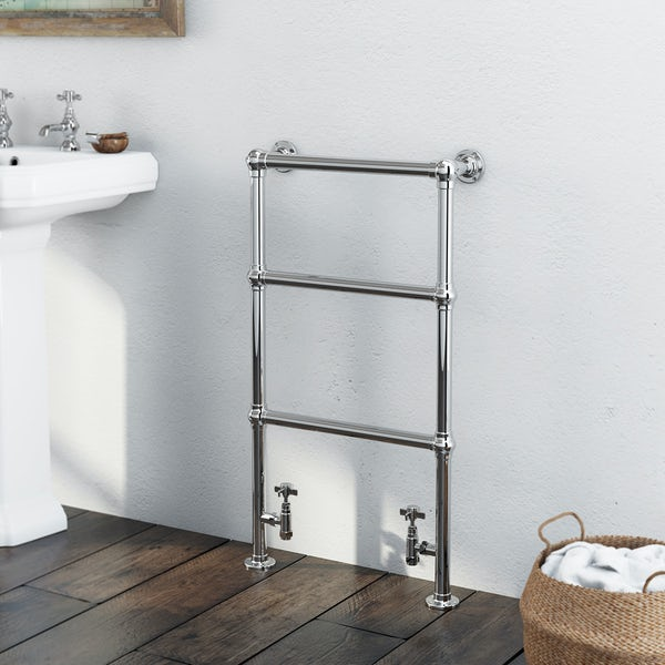 Winchester Heated Towel Rail 914 x 535