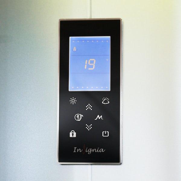 Insignia quadrant steam shower cabin 1000 x 1000