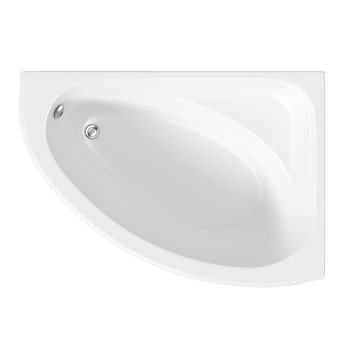 Orchard Camden right handed corner bath 1060 x 1500