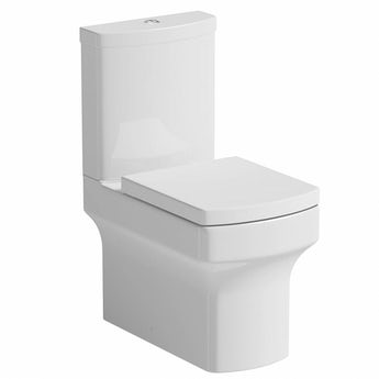 Orchard Wye close coupled toilet with soft close seat with pan connector