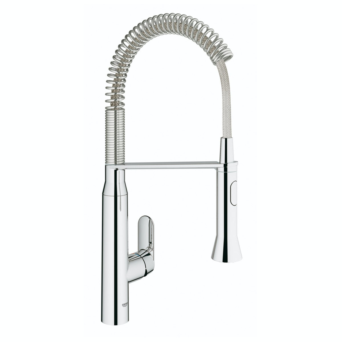 Grohe K7 Profi-spray medium kitchen tap with pull down spout