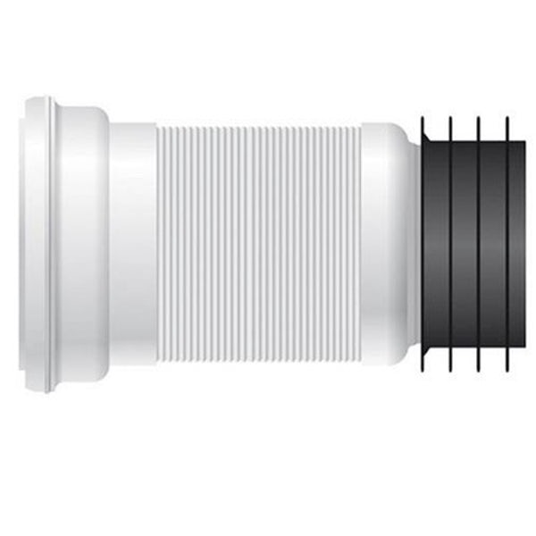 Oakley close coupled toilet with soft close seat with pan connector