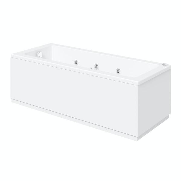 Kensington 1500 x 700 single end 6 jet whirlpool bath