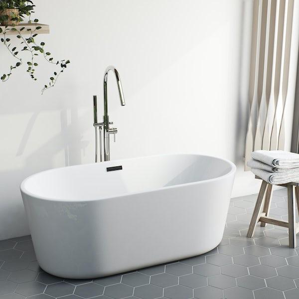 Mode Heath freestanding bath filler tap