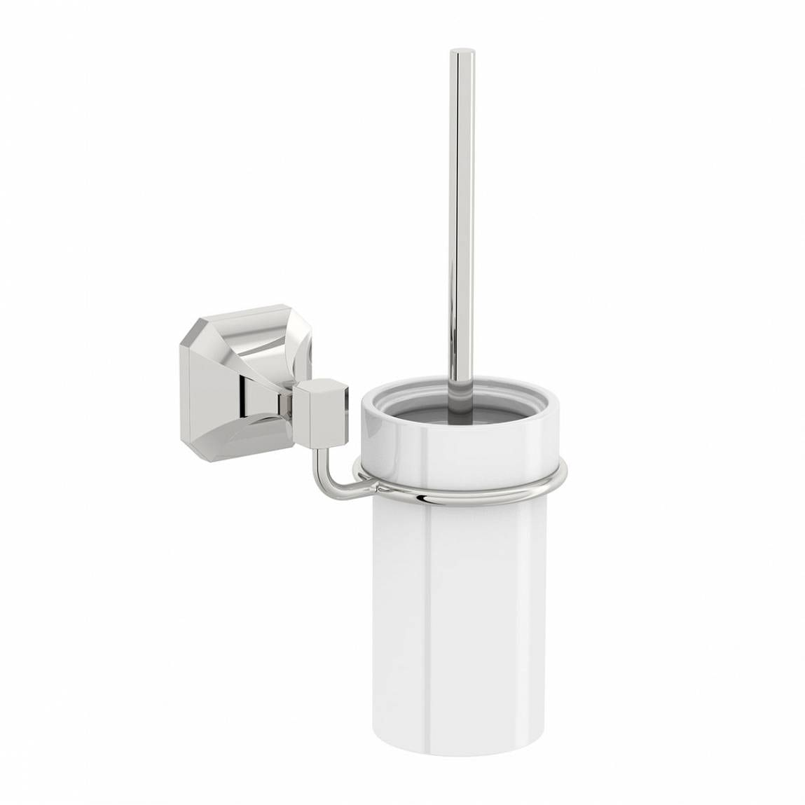 The Bath Co. Camberley toilet brush and ceramic holder