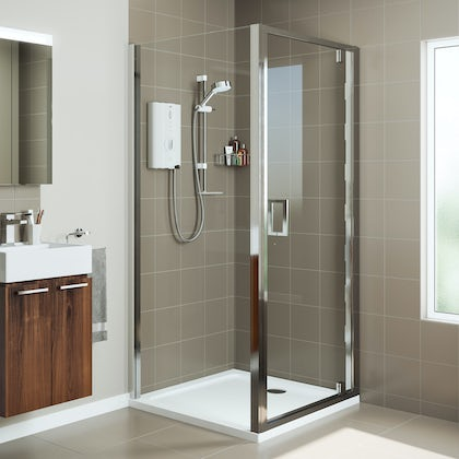 Mira Leap square pivot shower enclosure