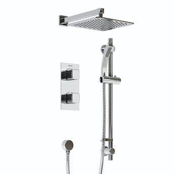 Bristan Cobalt concealed thermostatic shower set