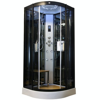 Insignia quadrant steam shower cabin 900 x 900