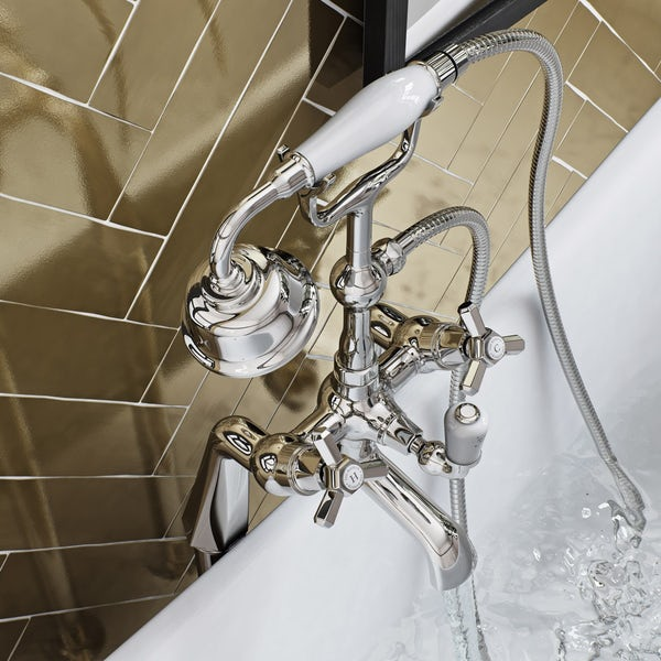The Bath Co. Beaumont bath shower mixer tap offer pack