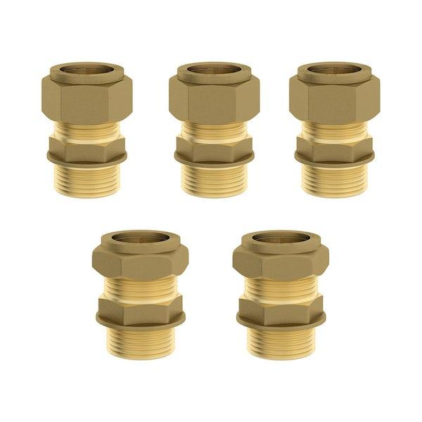 Mode Cooper square concealed triple valve with diverter offer pack