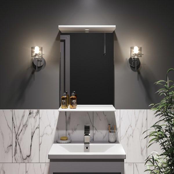 Forum Solis cylinder bathroom wall light