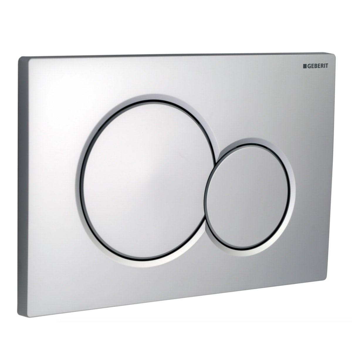 Geberit Sigma01 dual flush plate gloss chrome