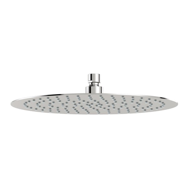 SmarTap white smart shower system with complete round ceiling shower outlet bath set