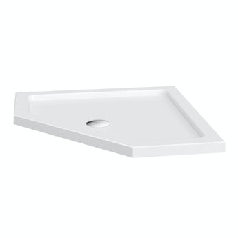 Pentagonal stone shower tray 900 x 900
