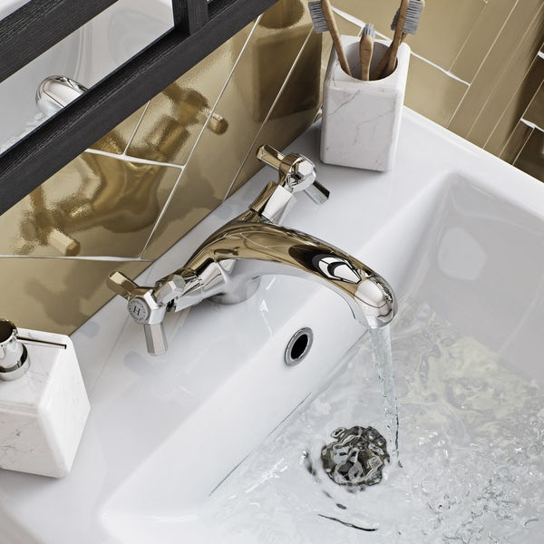 The Bath Co. Beaumont basin mixer tap offer pack